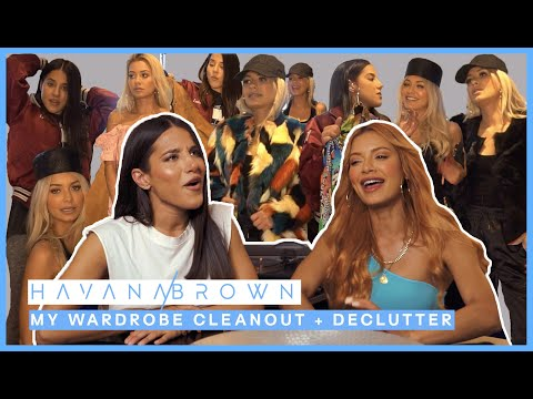 MY WARDROBE CLEANOUT + DECLUTTER W/ EFFIE KATS 😳 *auctioning clothes for charity*   #WITHME