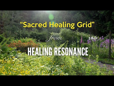 Sacred Healing Grid from HEALING RESONANCE by Dean Evenson, Scott Huckabay & Phil Heaven