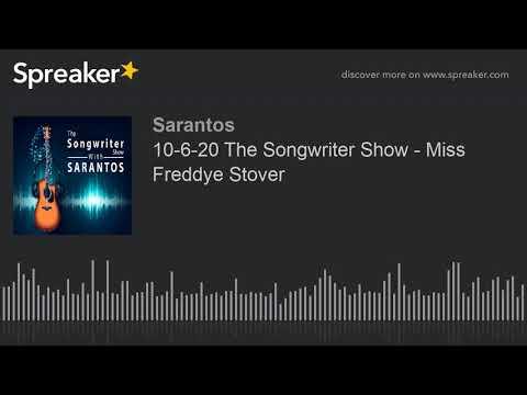 10-6-20 The Songwriter Show - Miss Freddye Stover