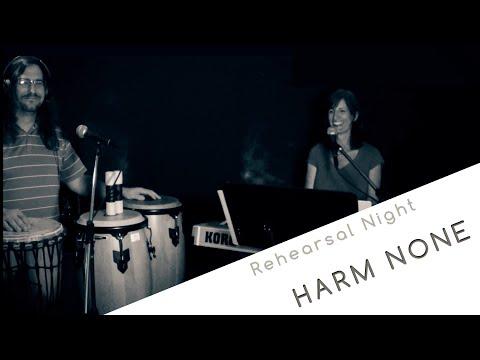 Rehearsal night in Winnipeg - Harm None (work in progress)