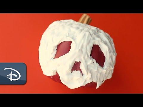 DIY Poison Apple Pumpkin | #DisneyMagicMoments