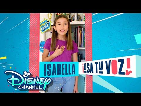 Isabella | Usa Tu Voz | Hispanic Heritage Month | Disney Channel