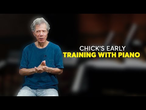 Chick's Early Training with Piano