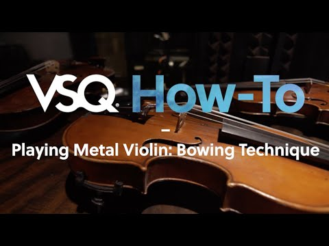 "Playing Metal Violin: Bowing Technique (Metallica's ""Enter Sandman"")"