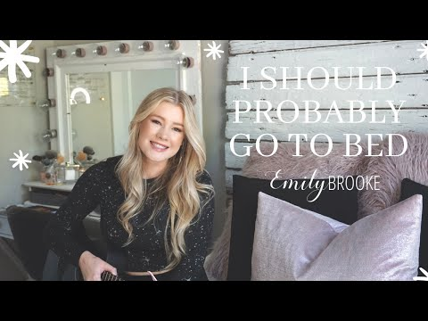 I Should Probably Go To Bed (Cover By Emily Brooke)