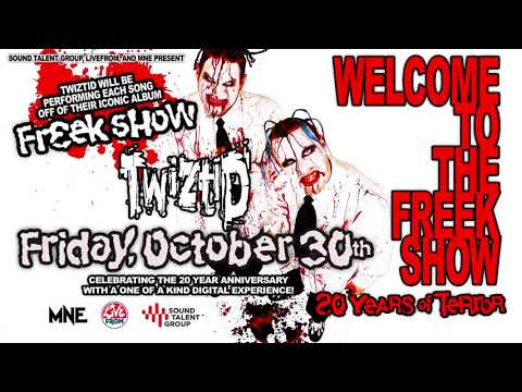 Welcome to the Freek Show Digital Experience - (Twiztid, Anybody Killa & Blaze Ya Dead Homie)