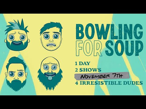 Join Bowling For Soup On November 7th For The Livestream Event Of The Year
