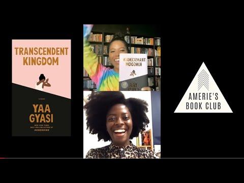 Amerie x Yaa Gyasi IGLIVE chat #TranscendentKingdom | AMERIE'S BOOK CLUB Sept 2020