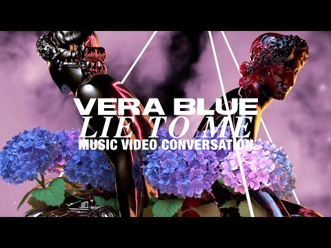 Vera Blue talks Animation, Kaleidoscopes & Flowers with collaborators for Lie To Me 🌸💞