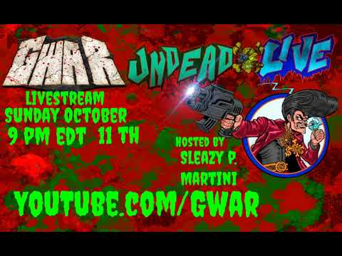 Sleazy P Martini on Undead Live (Sunday October 11th, 2020)