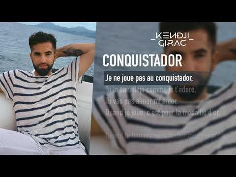 Kendji Girac - Conquistador (Lyrics Vidéo)