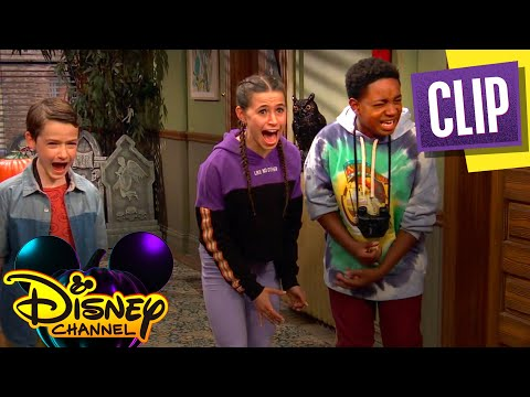 A Halloween Mystery 👻  | Raven's Home | Disney Channel