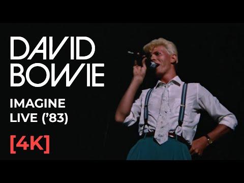 David Bowie - Imagine (Live at the Coliseum, Hong Kong, 8th December 1983) [4K]
