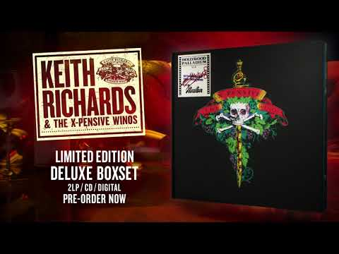 Keith Richards & The X-Pensive Winos – Live at the Hollywood Palladium Deluxe Boxset Unboxing