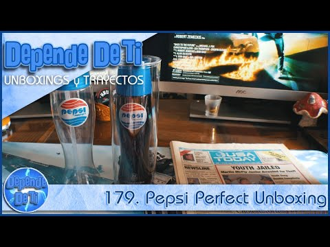 179. Pepsi Perfect Unboxing