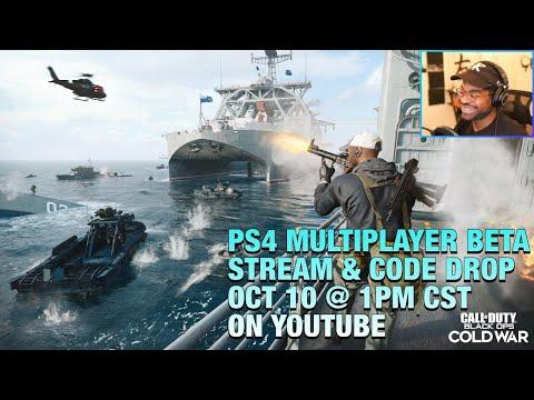 Call of Duty Black Ops: Cold War Beta Stream/Code Drop