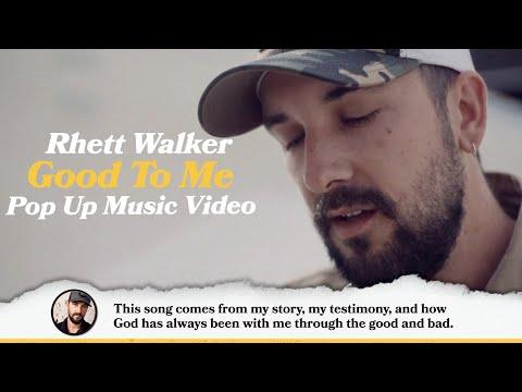 "Rhett Walker - ""Good To Me"" Pop Up Music Video"