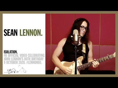 Sean Ono Lennon: 'Isolation' (4K) #LENNON80
