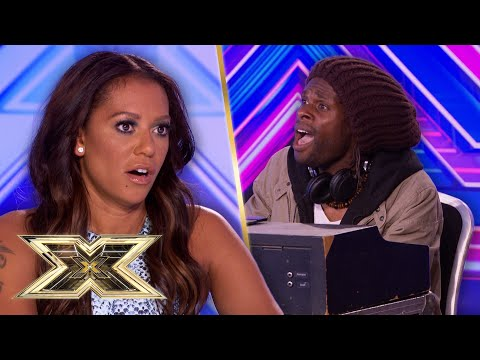 LONGEST AUDITION EVER? Contestant WON'T LEAVE until Simon has heard EVERY SONG!  | The X Factor UK