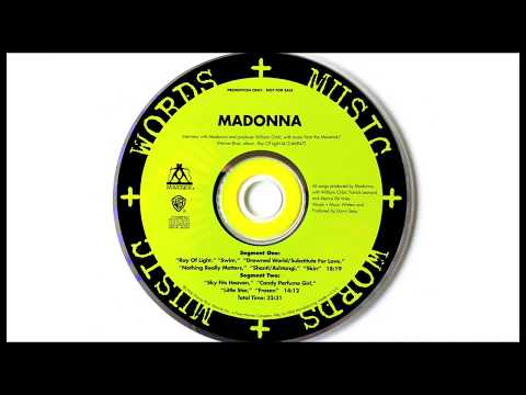 """Madonna - """"Ray of Light - Words + Music"""" audio interview"""