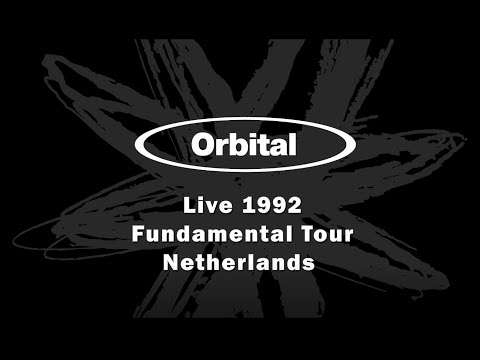 Orbital live - part of Fun Da Mental tour of Netherlands 1992