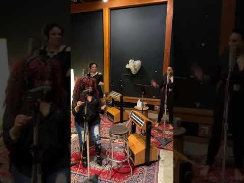 A little #BTS tonight in the recording studio 🎶 Acapella October 10, 2020
