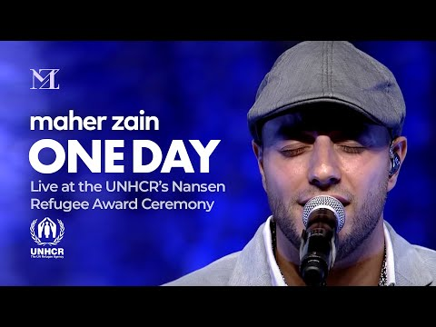Maher Zain - One Day | Live at UNHCR's Nansen Refugee Award Ceremony