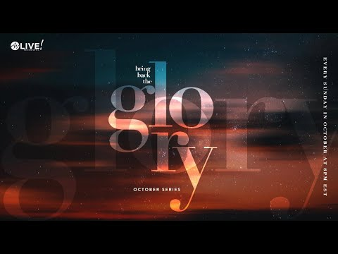 ANWA Live DC Weekly service | Bring back the glory - Take me with you | Pastor JJ Hairston