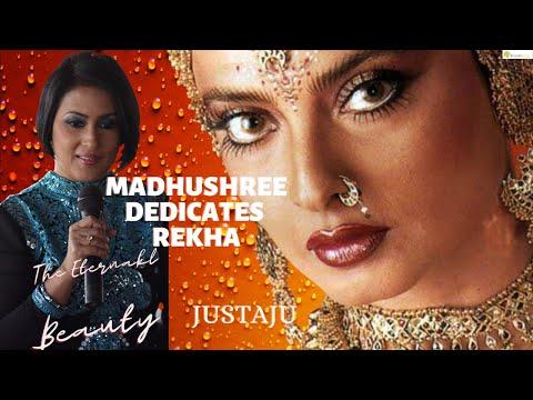   #madhushree   dedicates   #rekha   #happybirthday   justaju   unplugged  