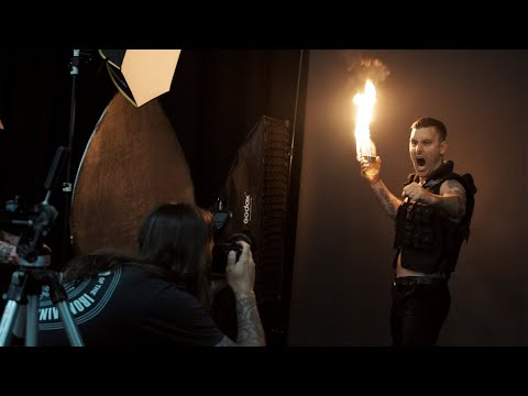 Parkway Drive - Metal Hammer cover (behind the scenes)