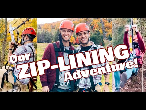 Our Autumn Zip-Lining Adventure - Chris and Clay