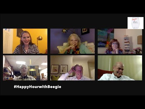 HAPPY HOUR with BEEGIE featuring Roy Blount Jr, Dr. John Sergent, Elyse Adler and Ernie Reynolds