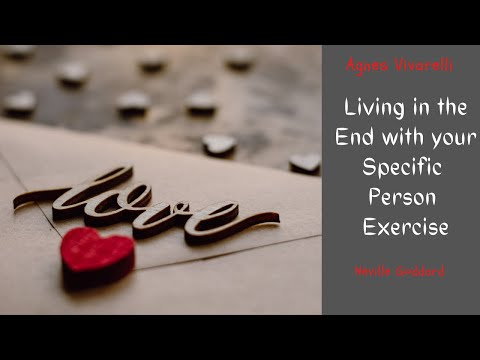 Living in the End With Your Specific Person Exercise