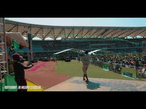 Rayvanny-alivyoingia kama Mmachinga Mkapa Stadium