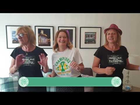 Rod Stewart - Hold The Line (Celtic Family Video)