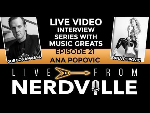 Live From Nerdville with Joe Bonamassa - Episode 21 - Ana Popovic