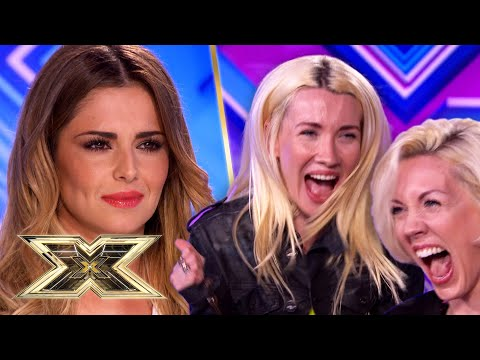 """""""Cheryl you're gonna love us!"""" Blonde Electric leave the Judges LOST FOR WORDS! 