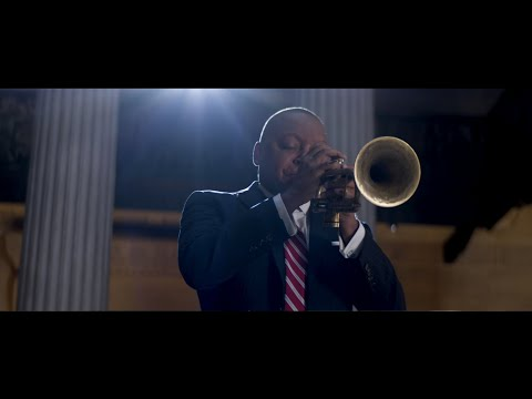 Wynton Marsalis performs Amazing Grace at Federal Hall: Dedication to the Cause of Democracy