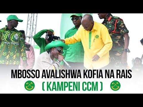 Mbosso Avalishwa kofia na Raisi John Pombe Magufuli