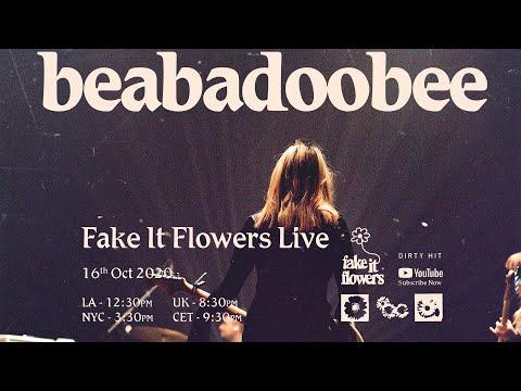 beabadobee - Fake It Flowers Live #livestream