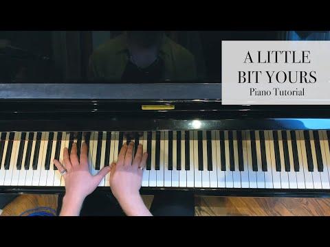 JP Saxe - A Little Bit Yours (Piano Tutorial)