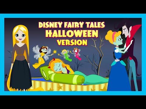 Disney Fairy Tales: Halloween Version | Stories For Kids | Traditional Story | T-Series Kids Hut