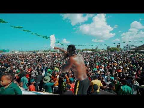 Diamond Platnumz -  Perming Live at Tanganyika Packers ( KAWE)