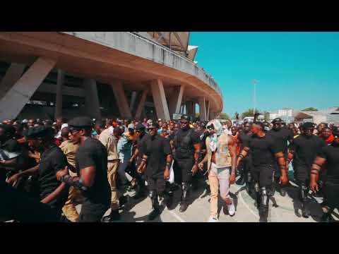Diamond Platnumz - Arrived in Mkapa Stadium