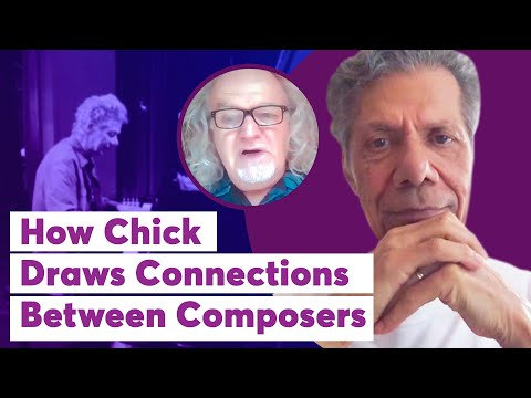 How Chick Draws Connections Between Composers