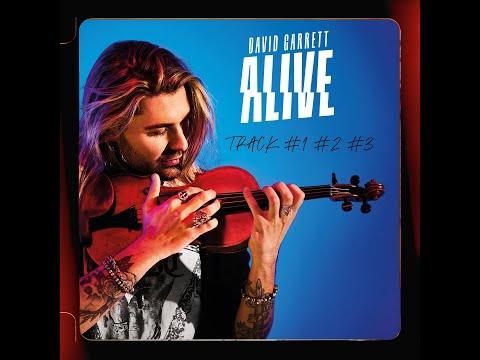 David Garrett Track by Track No 1 to 3 Staying Alive - What A Wonderful World - Happy