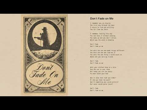 Tom Petty - Don't Fade On Me (Official Lyric Video)