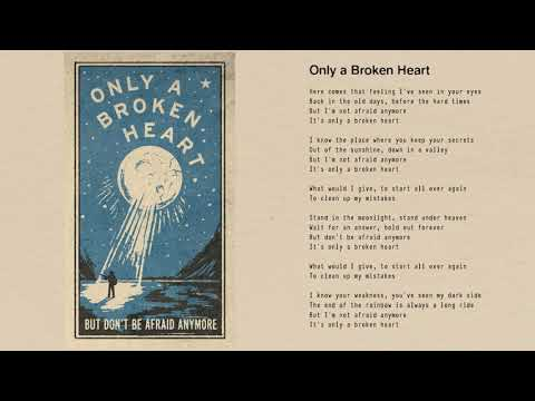 Tom Petty - Only a Broken Heart (Official Lyric Video)