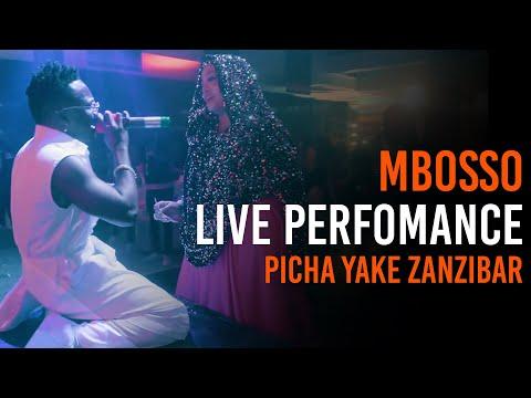 Mbosso live perfomance Picha yake Zanzibar