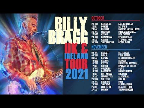 Billy Bragg - UK & Ireland Tour 2021 - October / November